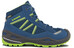 Lowa Simon II GTX QC Shoes Junior blau/limone